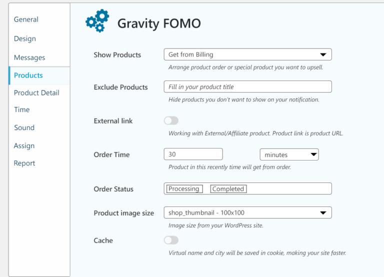gravity fomo product info